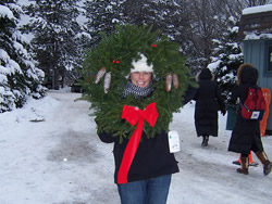 Find the perfect Wreath at Country Pine Farm
